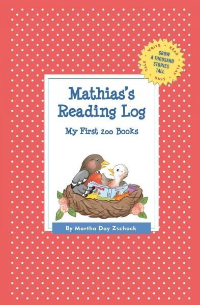 Mathias's Reading Log: My First 200 Books