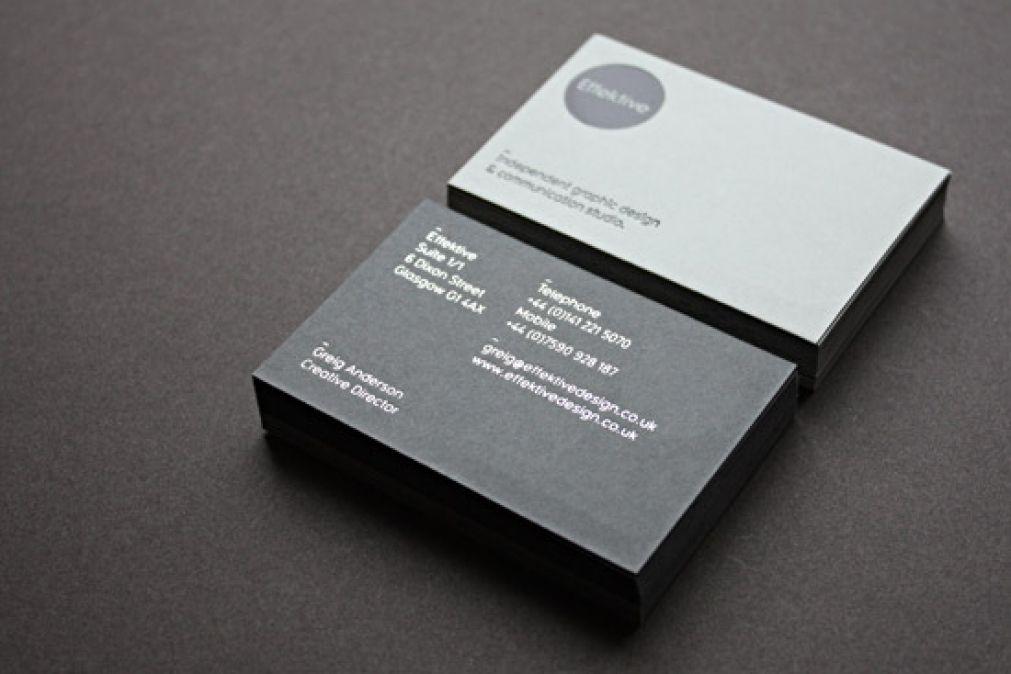 Cool Vertical Business Card Designs Zusammen Mit Design Eine