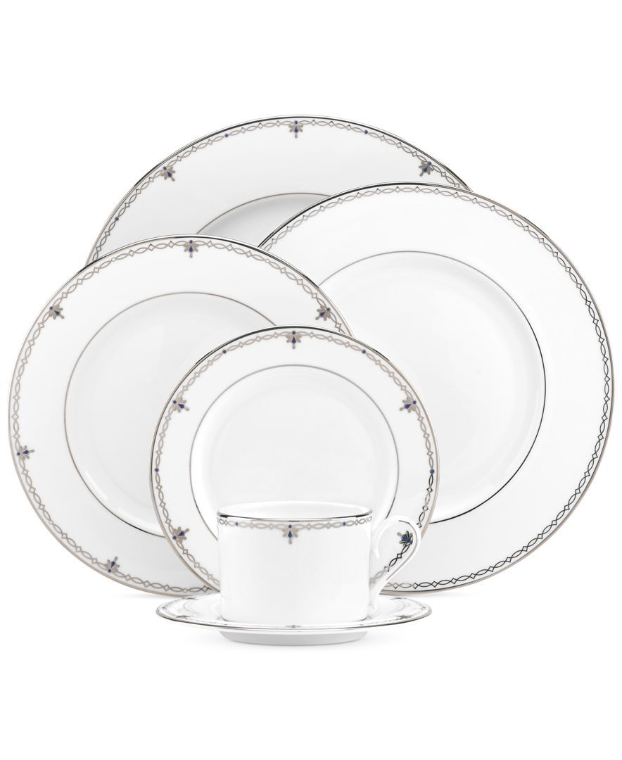 Astounding Lenox Sapphire Jewel 5 Piece Place Setting Products Complete Home Design Collection Epsylindsey Bellcom
