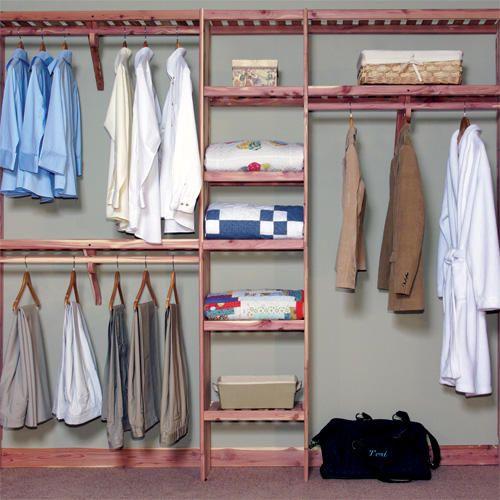 Closet · Cedar Closet Rod ...