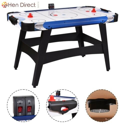 Air Powered Hockey Sports Game Table W Electronic Scorer Kids Fun Play Gift 54 6940350805822 Ebay Airpowered Indoor Sports Games Indoor Sports Sports Games
