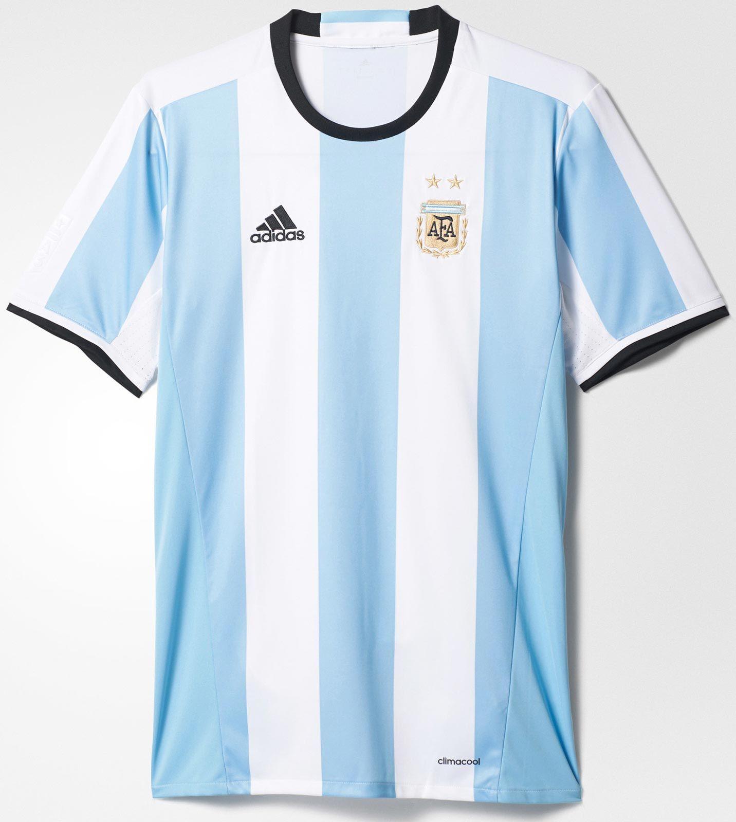 Argentina 2016 Adidas 'Copa America Centenario' Home Shirt