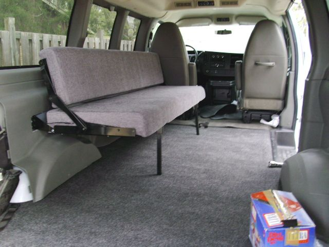 This Astro Van Incorporated A Folding Bed Kitchen Table Design
