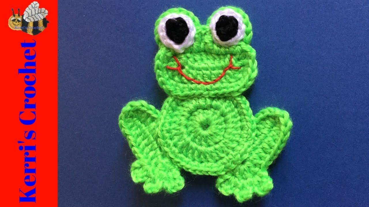 Cute Crochet Amigurumi Little Frog Free Pattern in 2020 ...