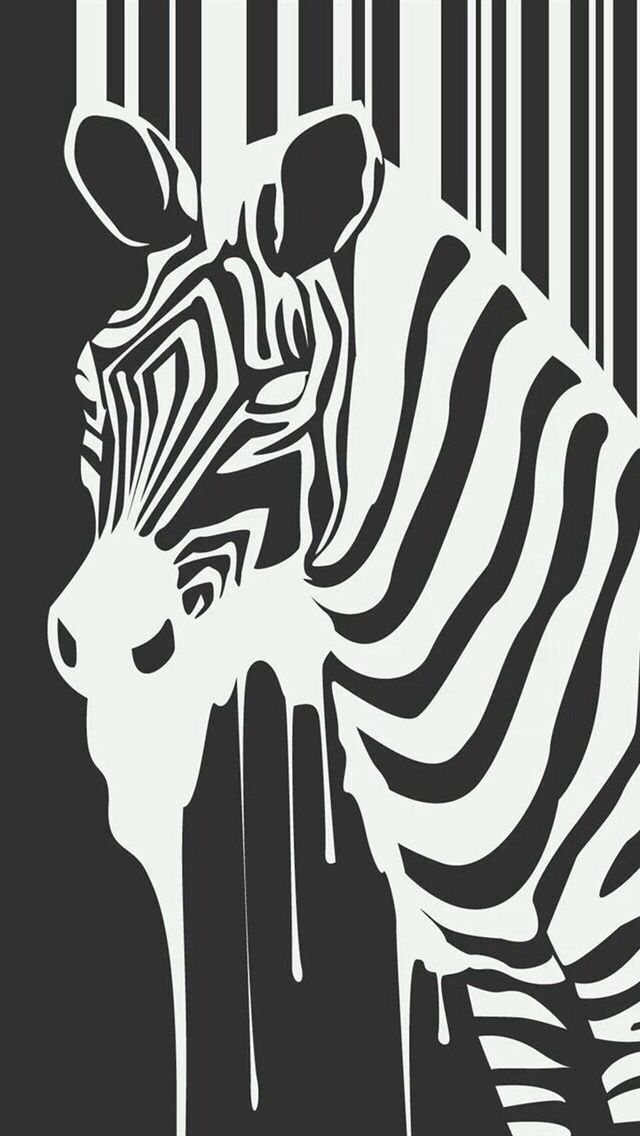 Zebra Iphone Wallpaper Background Zebra Art Zebra Wallpaper Black And White Cartoon