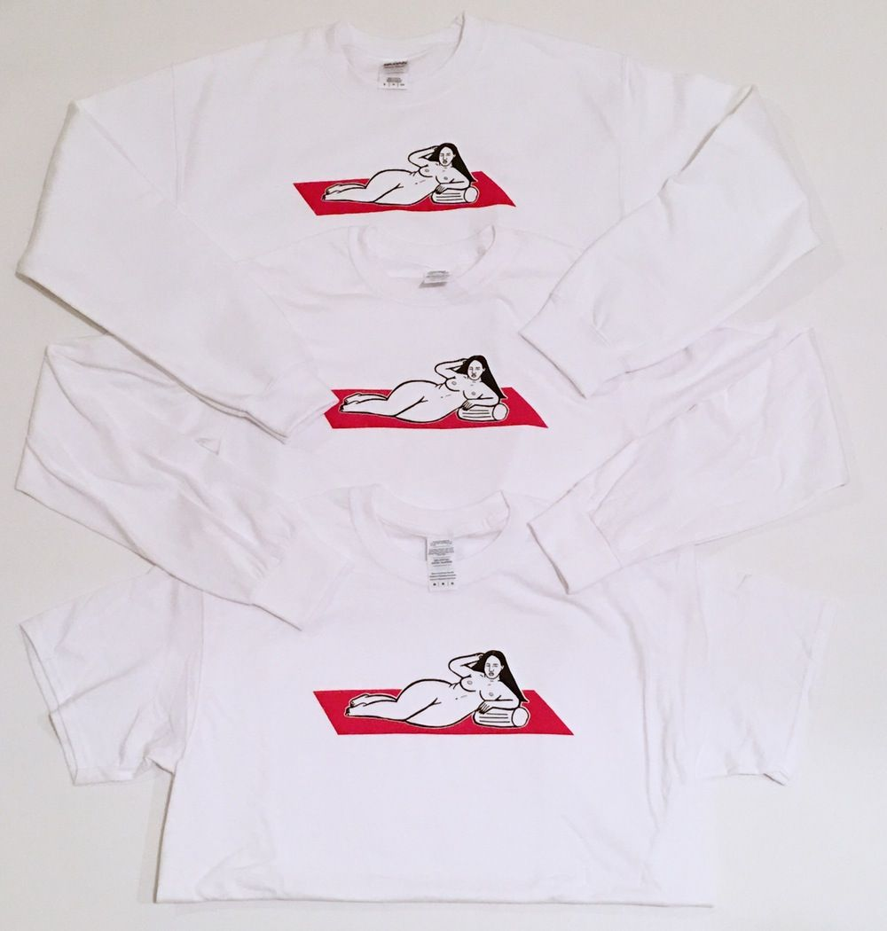 Image of lounging tshirt/long sleeve/sweater by Monica Garza