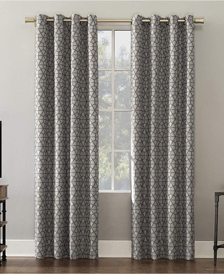 Sun Zero Verve 52 Grommet Curtains Panel Curtains Curtains