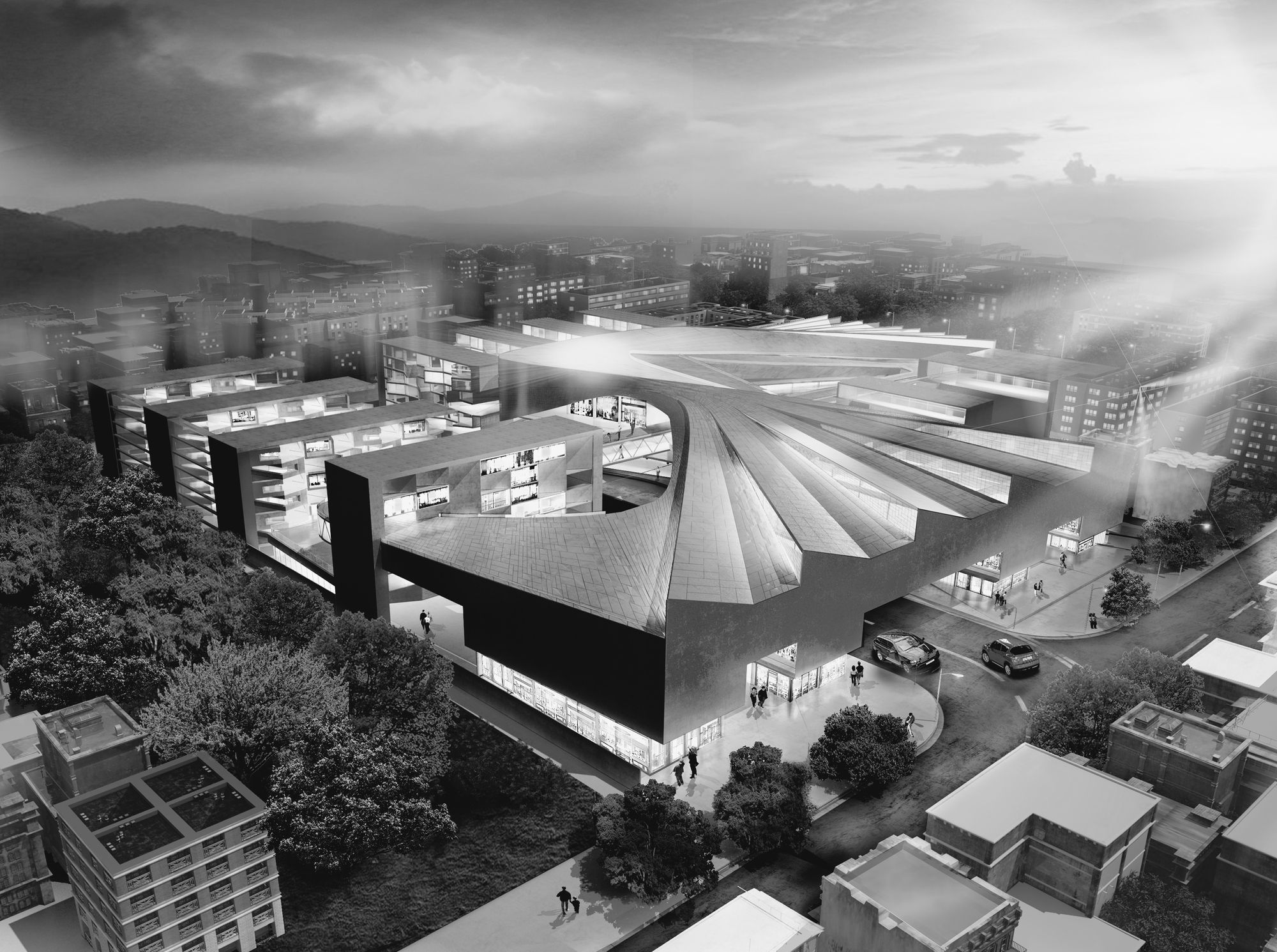 CAAT Studio Propose Large Scale Commercial Centre in Isfahan