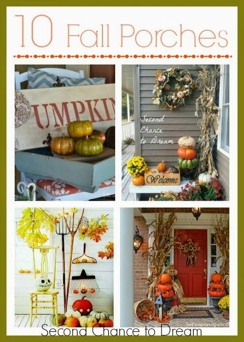 My Fall Front Porch Fall Decor Fall Halloween Decorating With Junk