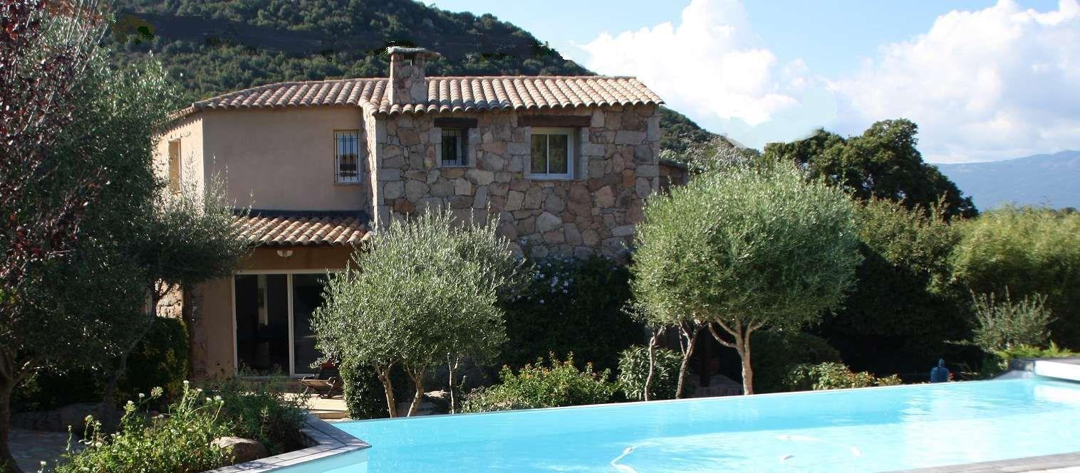 Villa a louer en corse porto vecchio deux pas des - Location maison piscine porto vecchio ...