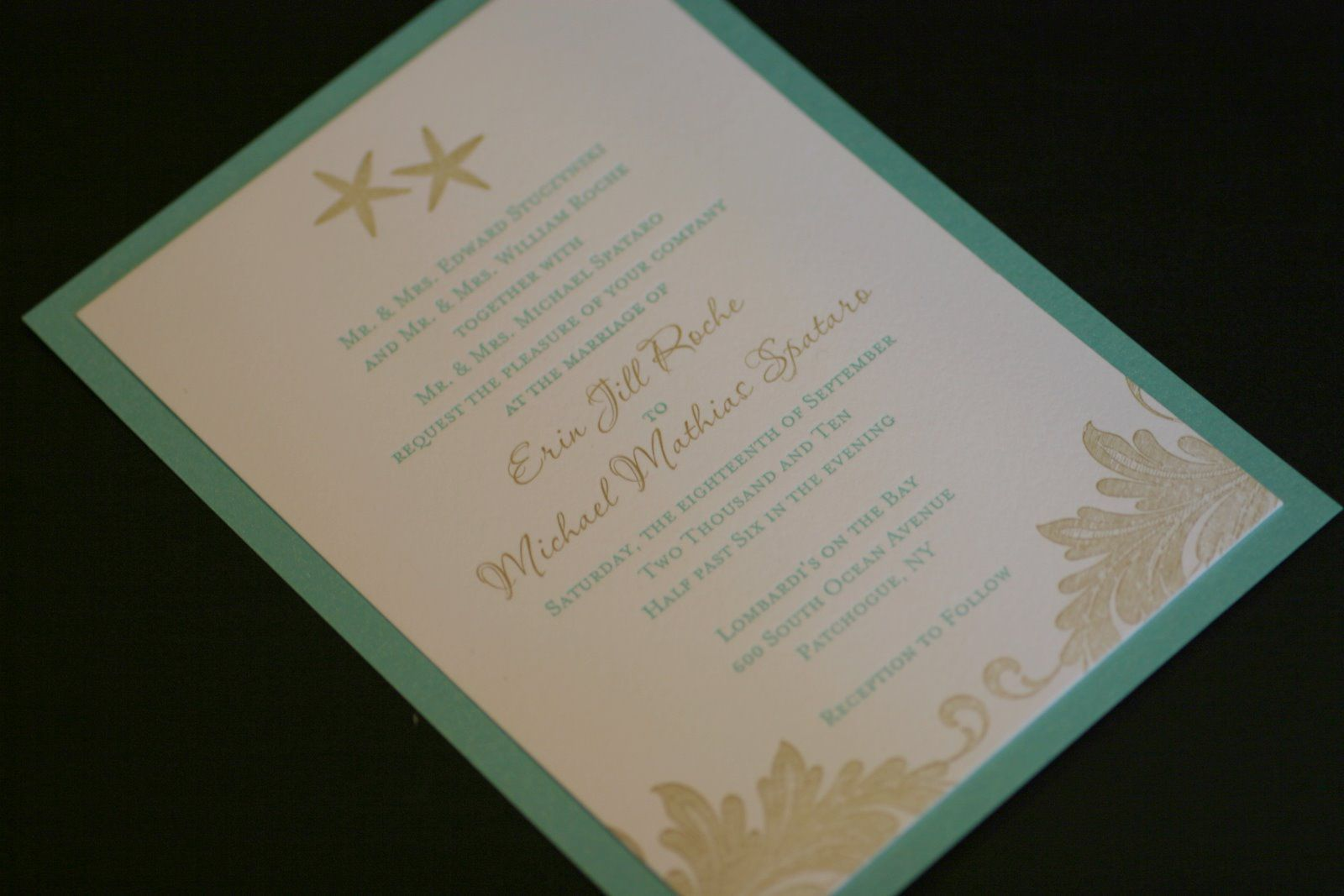 Beach themed engagement party invitations | engagement invitations ...