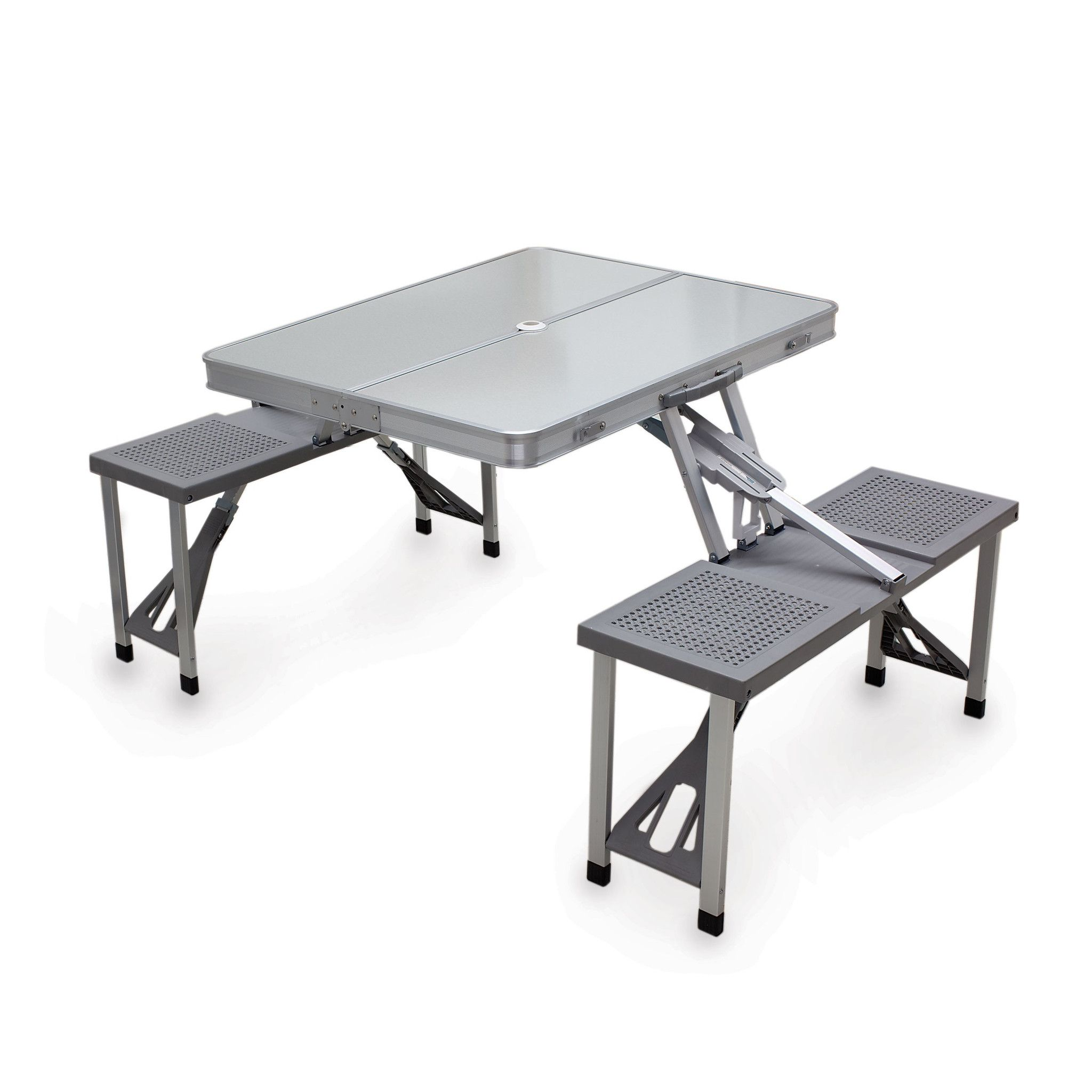 L Gant Table En Aluminium Id Es De Salon De Jardin # Salon De Jardin Avec Table Ovale