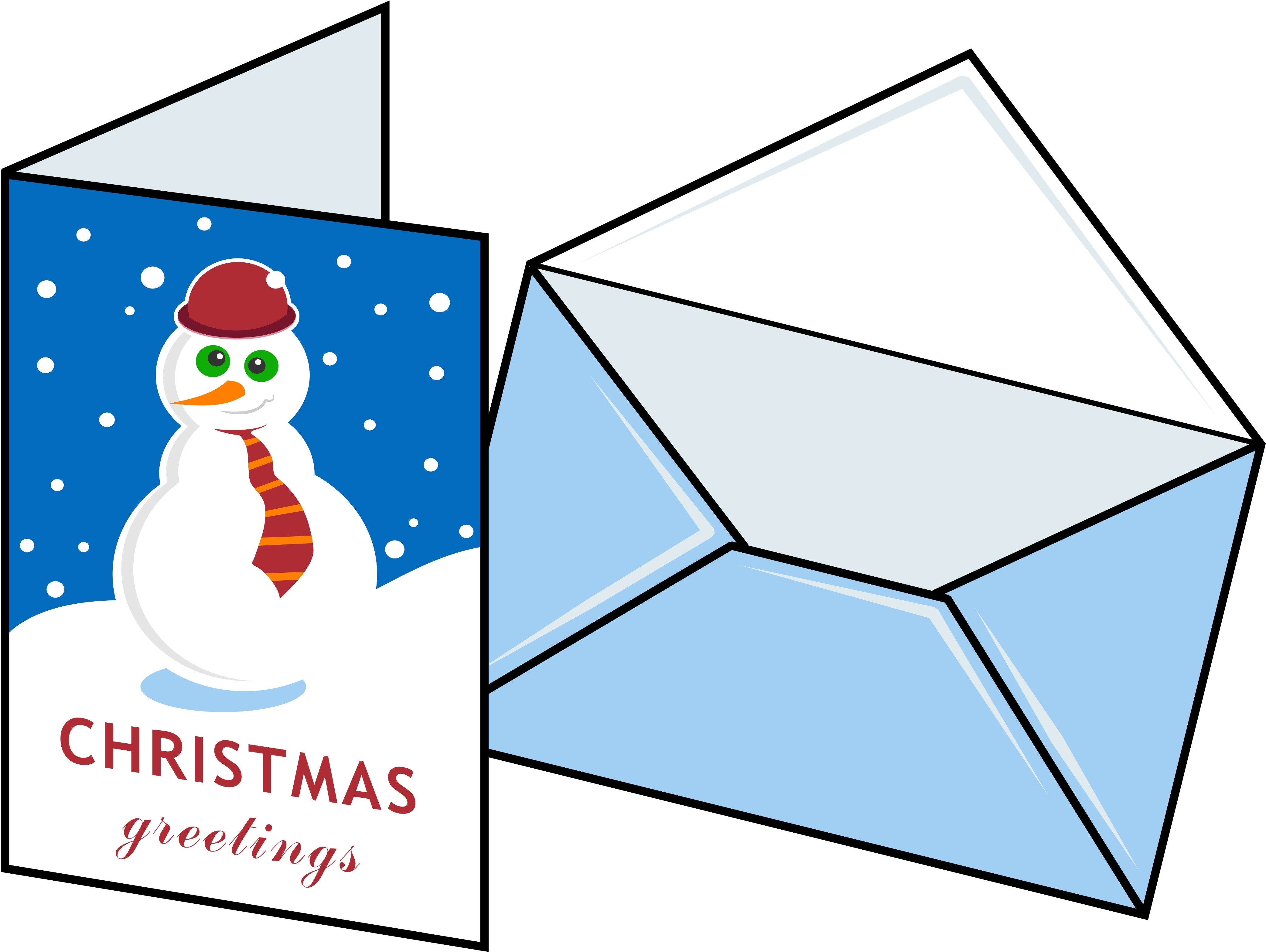 christmas card clipart google search [ 4169 x 3135 Pixel ]