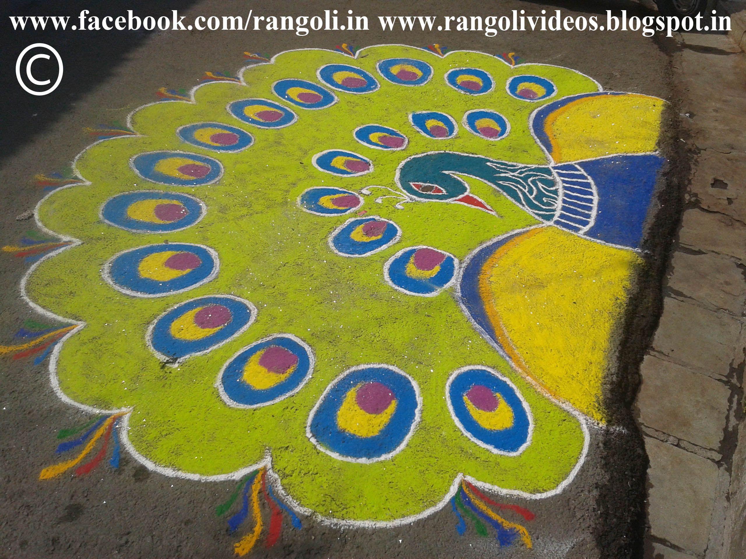 Amazing Rangoli Designs With Theme Go for Rangoli Designs With Theme Go Green  181obs