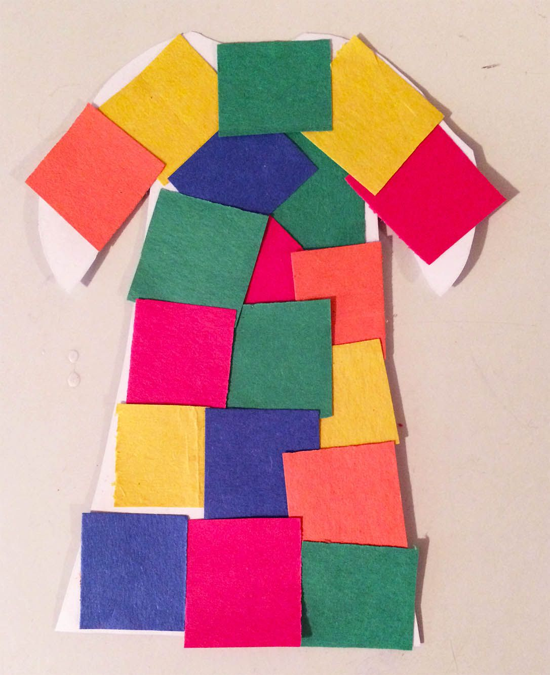 Joseph S Colorful Coat Bible Craft Activity This Fun And Easy Joseph Coat Craft Is An Easy