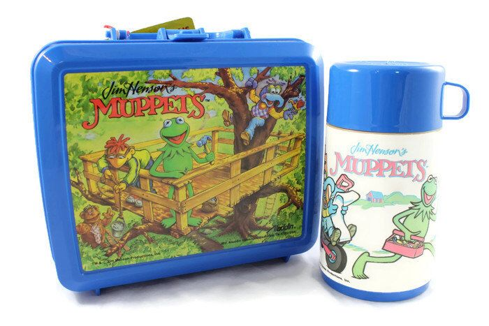 A personal favorite from my Etsy shop https://www.etsy.com/listing/289615247/1992-jim-hensons-muppets-lunch-box-with