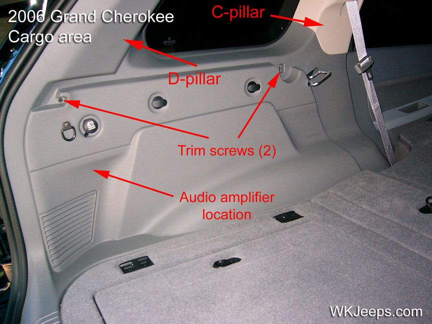 Jeep Grand Cherokee Wk Interior Trim Removal Jeep Wk Jeep Grand Cherokee Jeep