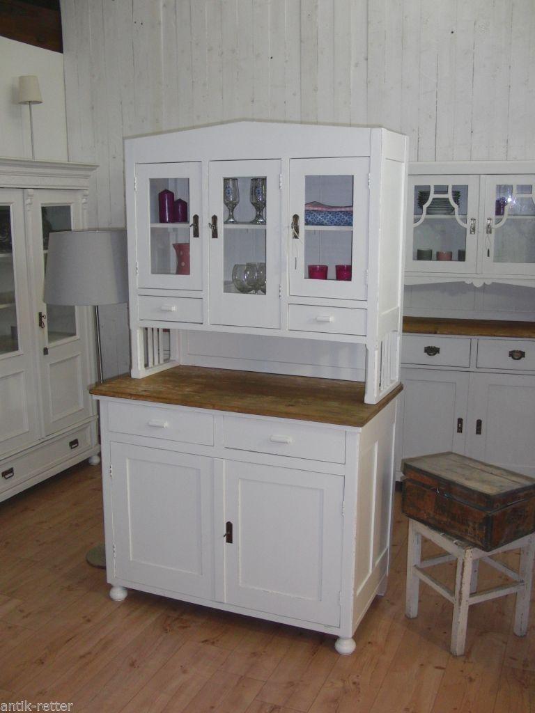 Jugendstil Kuchenbuffet Buffet Anrichte Vintage Shabby Landhaus