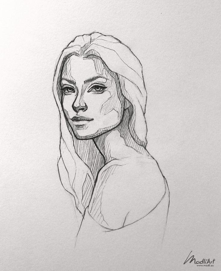 My #Sketchbook #Art #I #Drawing #Pretty #Girl