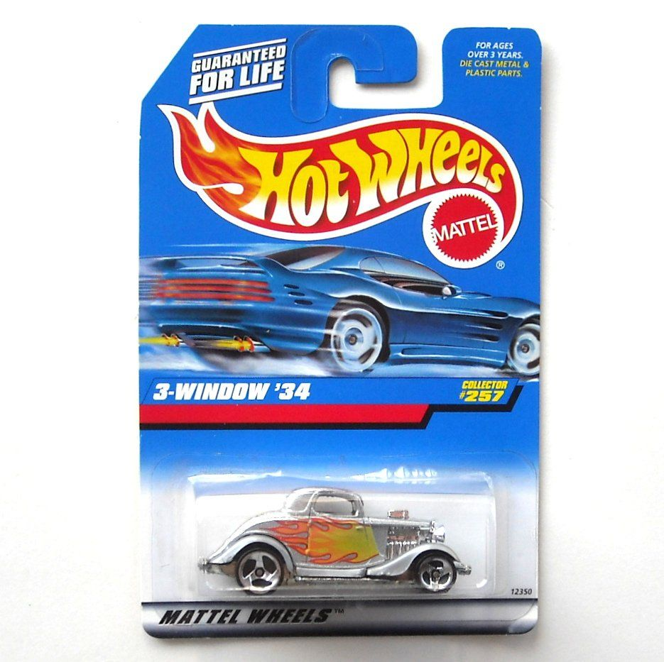 Hot Wheels 3 Window 34 Collector No 257 Diecast 1997 Hot Wheels Diecast The Collector