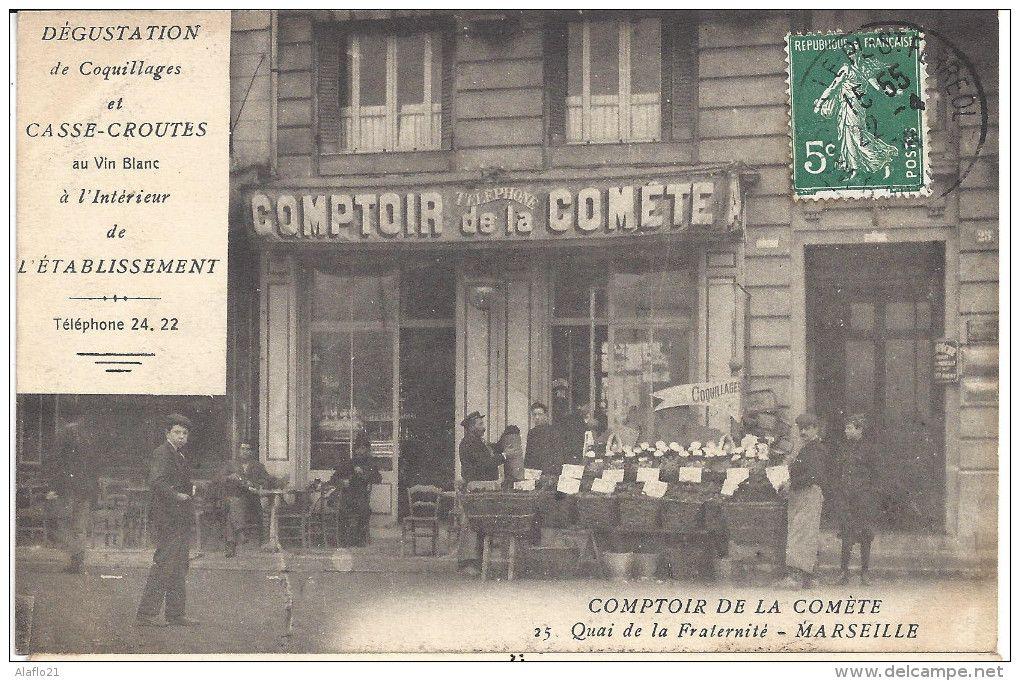 Quai De La Fraternite Comptoir De La Comete Marseille La Fraternite Vieux Port