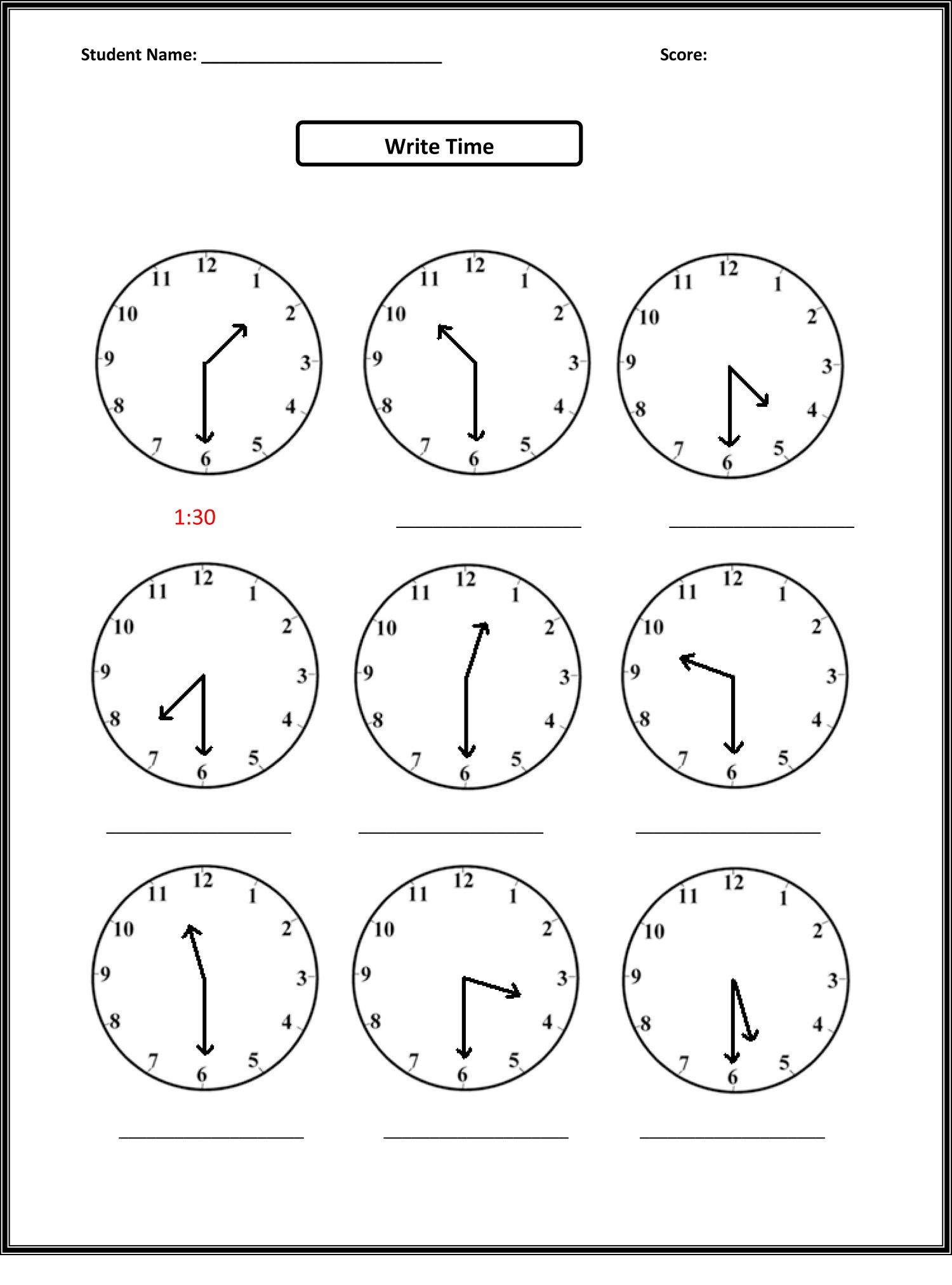 worksheet 1st Grade Clock Worksheets addition for worksheets grade 1 is helpful educative media 14 best images of first clock printables telling time free printable for