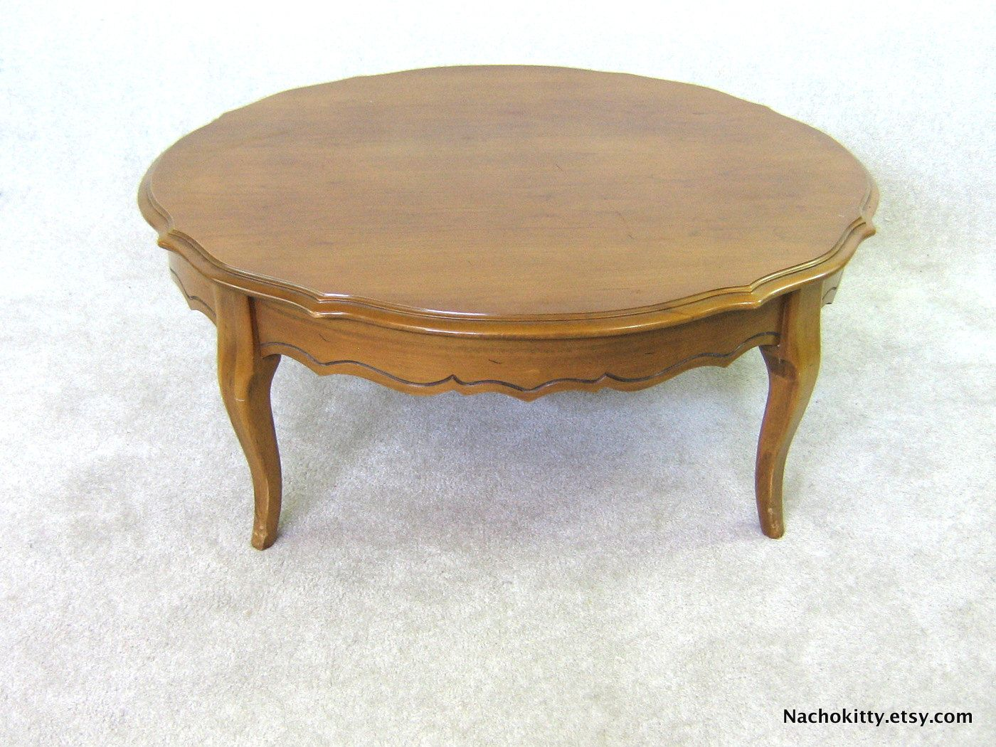 Maple Wood Coffee Table.1960s Maple Coffee Table Early American Solid Wood Craftsmanship