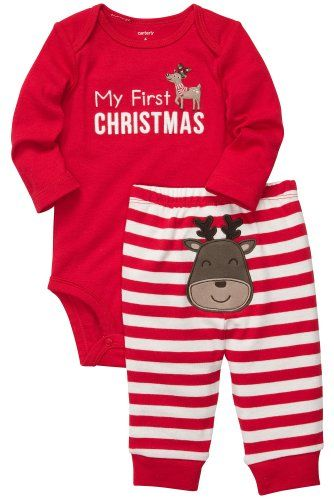 Carter's Unisex Baby My First Christm... $14.49 #topseller - Carter's Unisex Baby My First Christm... $14.49 #topseller Cute