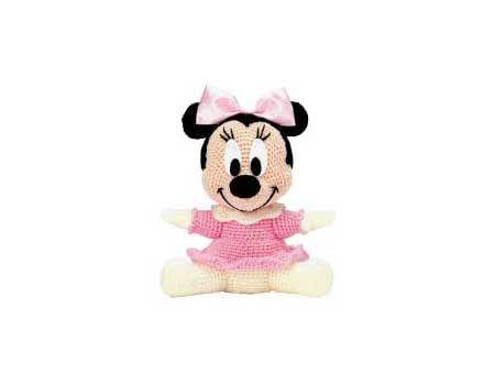 Minnie Mouse Amigurumi - Free Pattern (Beautiful Skills - Crochet ... | 350x450