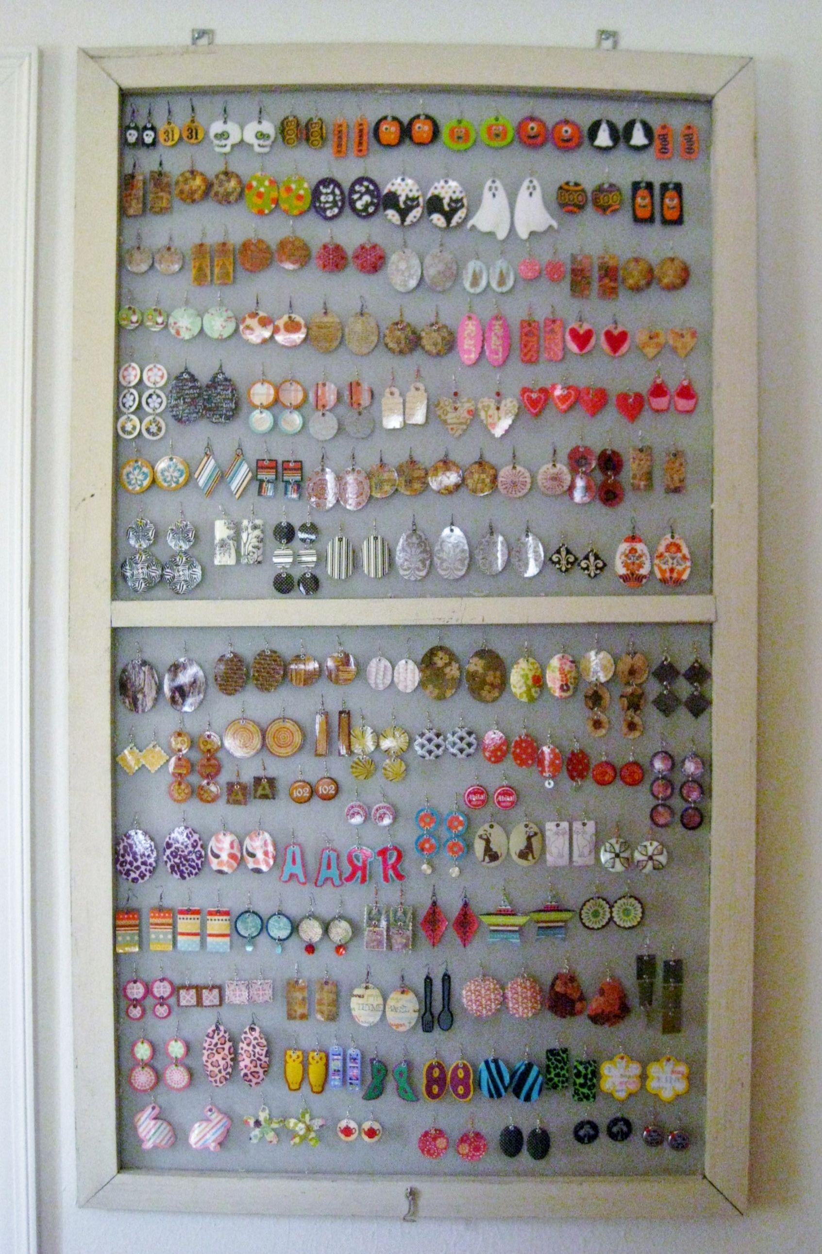 Upcycled Jewelry Organizers Attic storage Jewelry storage and
