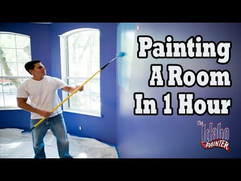 How to paint a room in your house in less then 2 hours - Interior painting tips and tricks ...