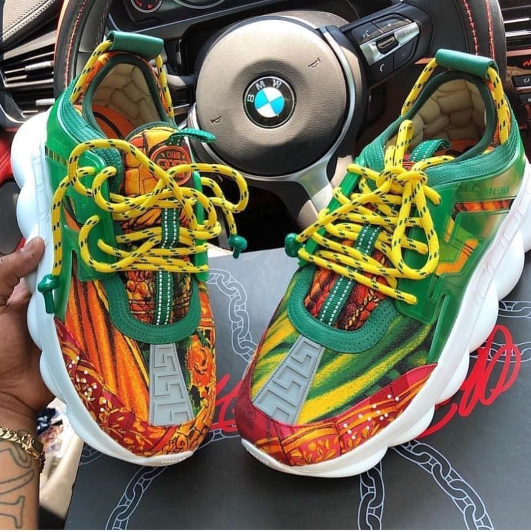 he Versace Sneakers are now available! DM us to purchase