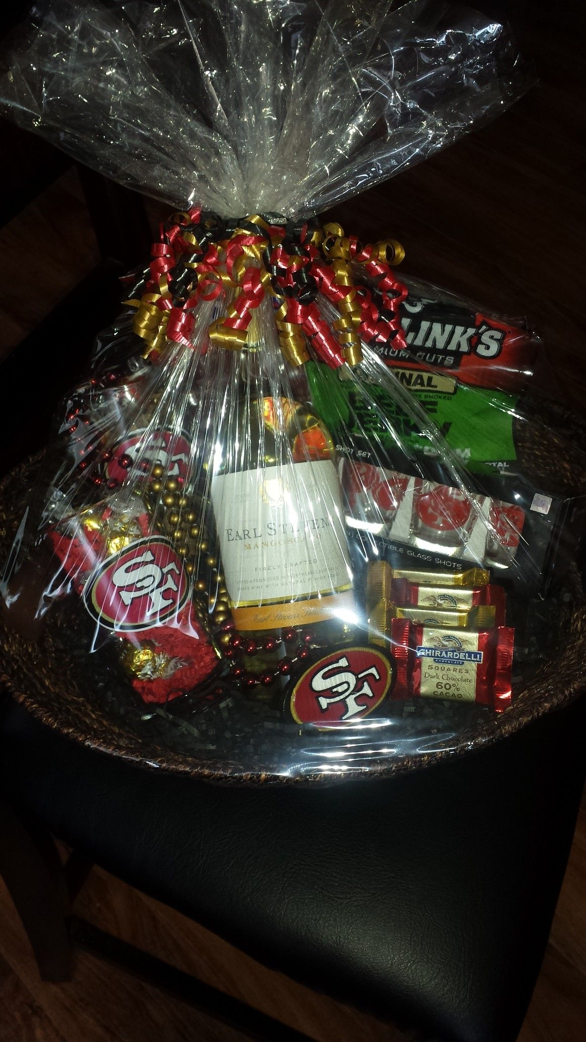 49ers fan gift basket 49ers gifts 33rd birthday gift
