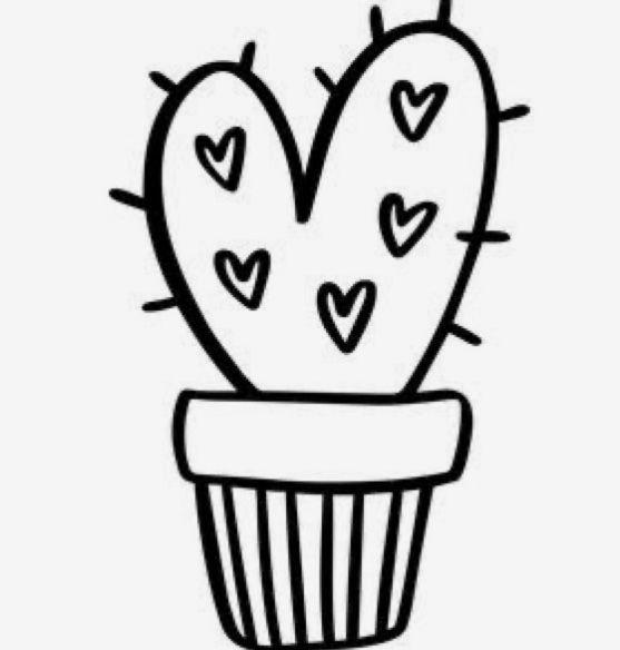 Fatima Garcia Adli Kullanicinin Cactus Draw Panosundaki Pin 2020 Doodle Desenleri Cikartma Yazdirilabilir Planlayici Cikartmalari