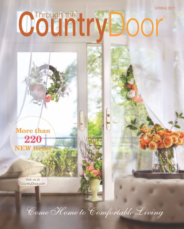 Request A Free Through The Country Door Home Decor Catalog Decor