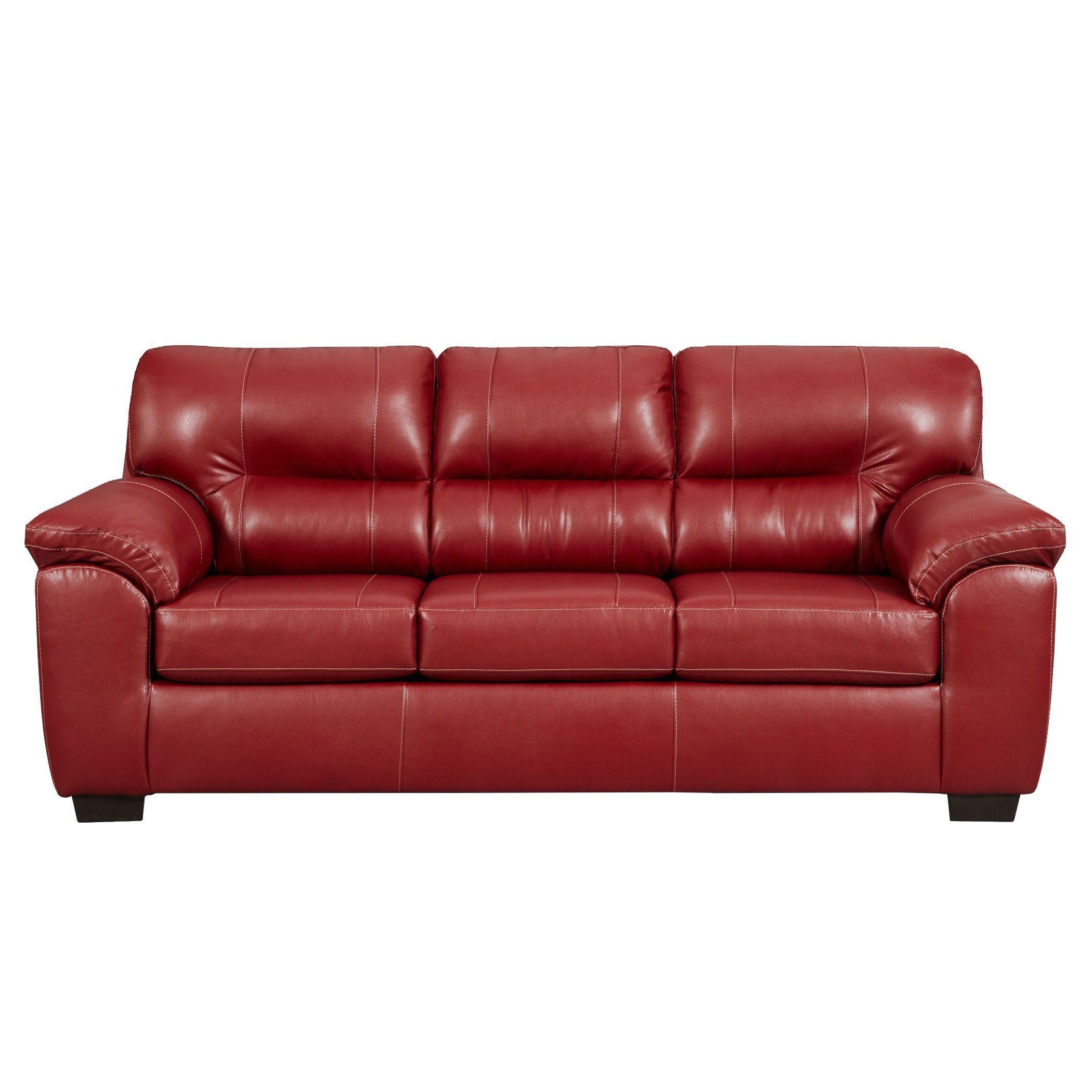 sofa trendz corina red sofa corina sofa red faux leather rh in pinterest com