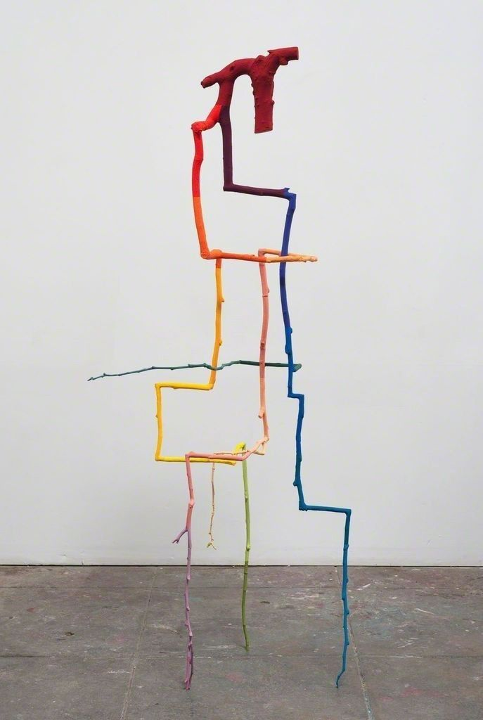 Inverted Tree#1, 2012, by Evan Holloway