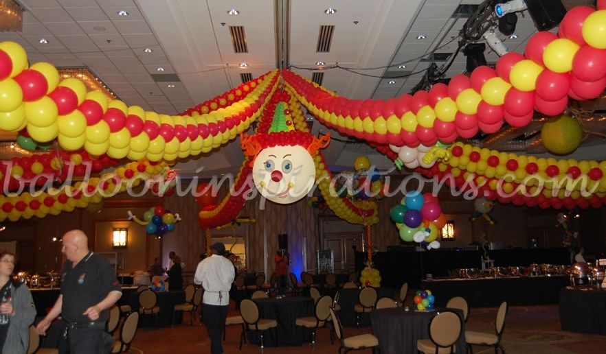 Circus Themed Decorations Ideas Part - 25: Theme Party Ideas - Circus Themed Party | Ballooninspirations.com