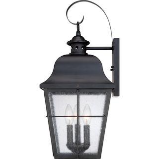 "Millhouse Mystic Black Large Wall Lantern | Overstock™ Shopping - Big Discounts on Quoizel Wall Lighting 22"" 169.99"