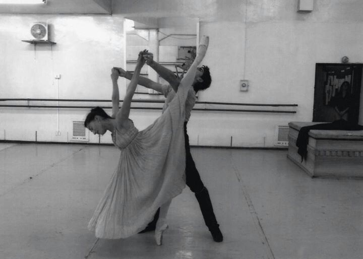 Romeo And Juliet Rehearsal Ballet De Santiago Photo By P Melo