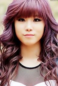 All The Colors Of The K Pop Hair Rainbow The Wackiest Idol Dye Jobs Pop Hair Hair Purple Hair