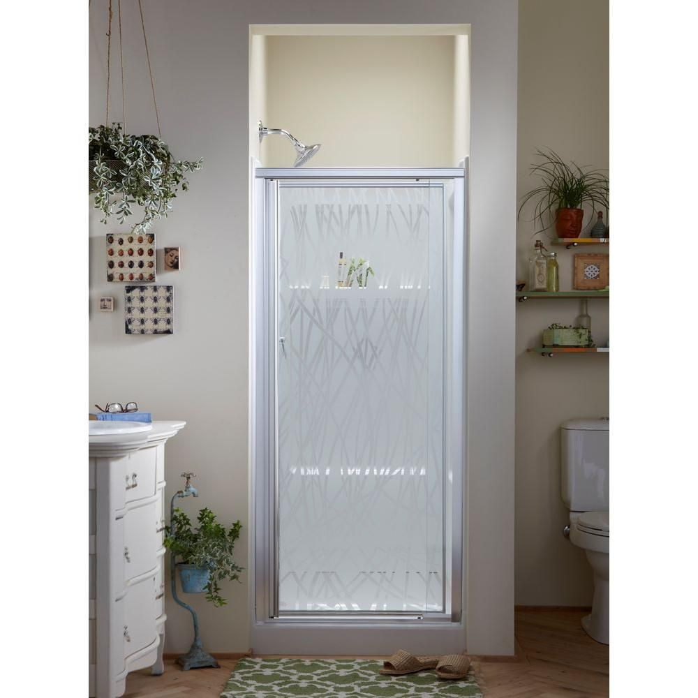 Sterling Vista Shower Doors Glass Texture Glass