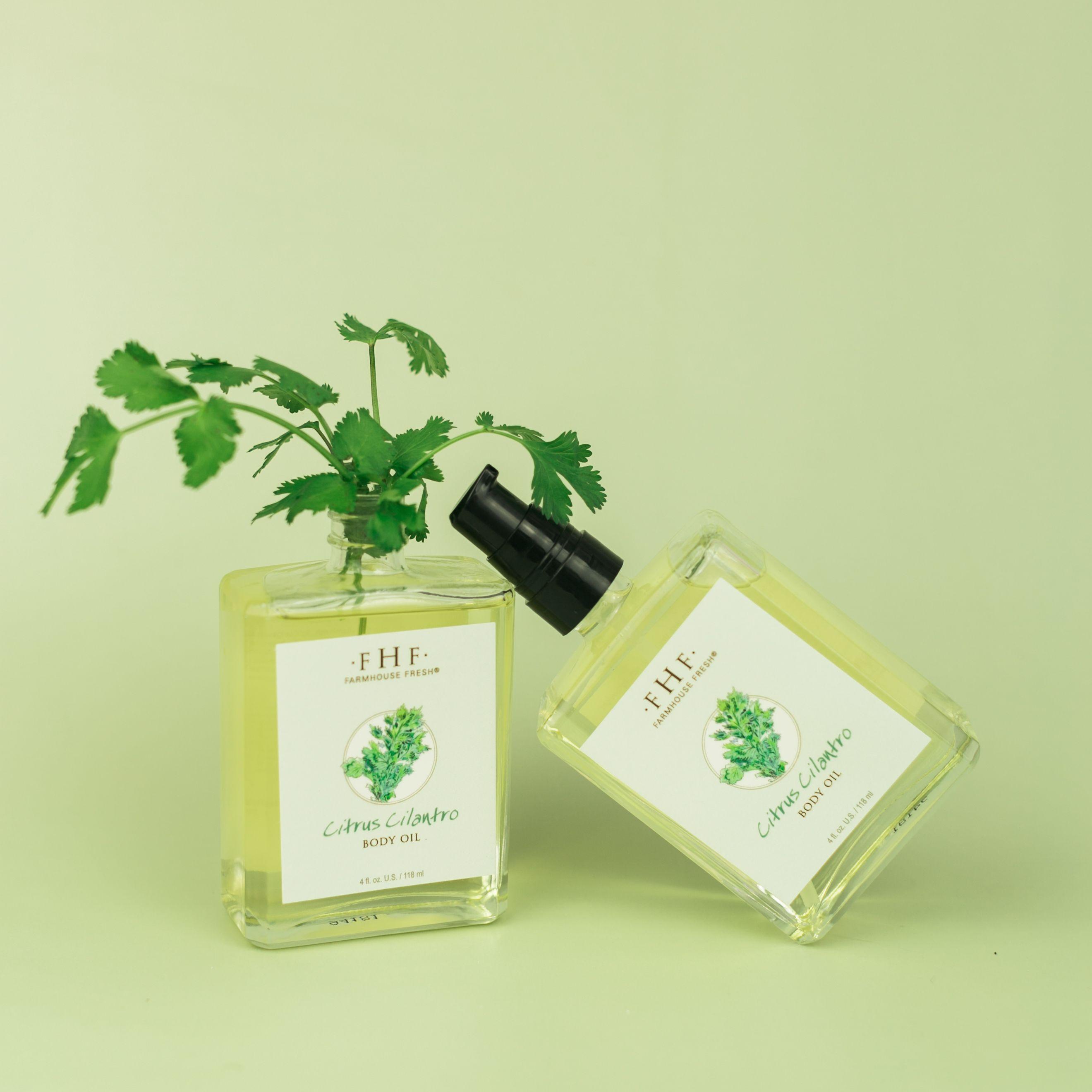 Citrus Cilantro Body Oil in 2020 Olive fruit, Cilantro