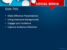 10865 social media discussion ppt template 0001 2 free social media discussion powerpoint template encourages dialogue and brainstorming among journalists to organize and present facts opinions toneelgroepblik Image collections