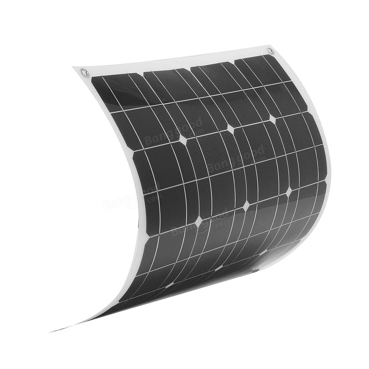 Elfeland El 04 50w 12v 560540mm Flexible Solar Panel 15m Cable Details About 12 Volt Circuit Charger Rv Battery Kit For Boat