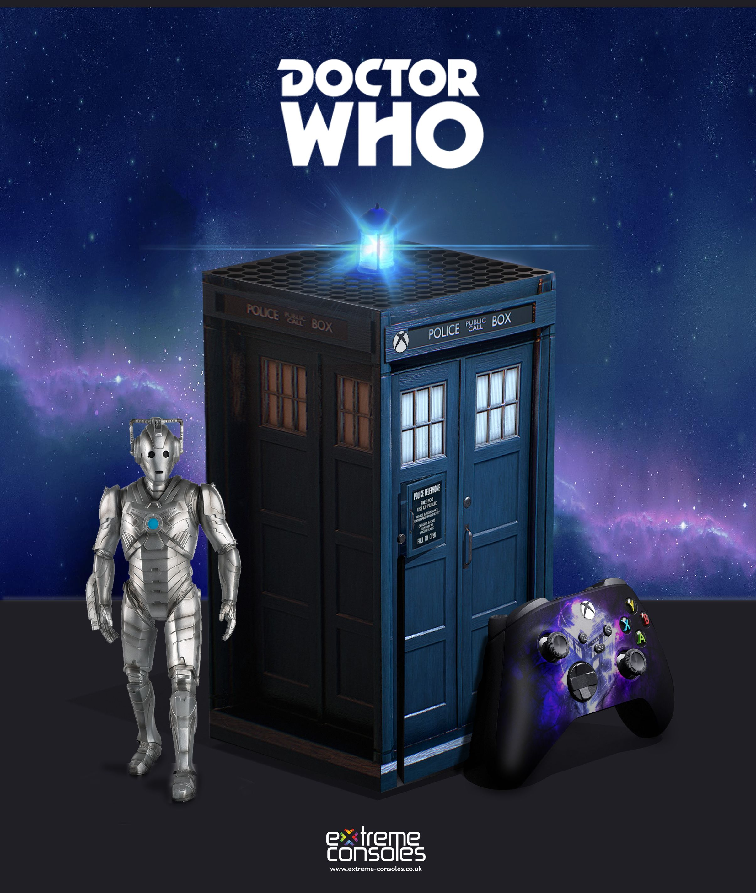 Custom Xbox Series X Doctor Who Custom Xbox Xbox Halo Xbox