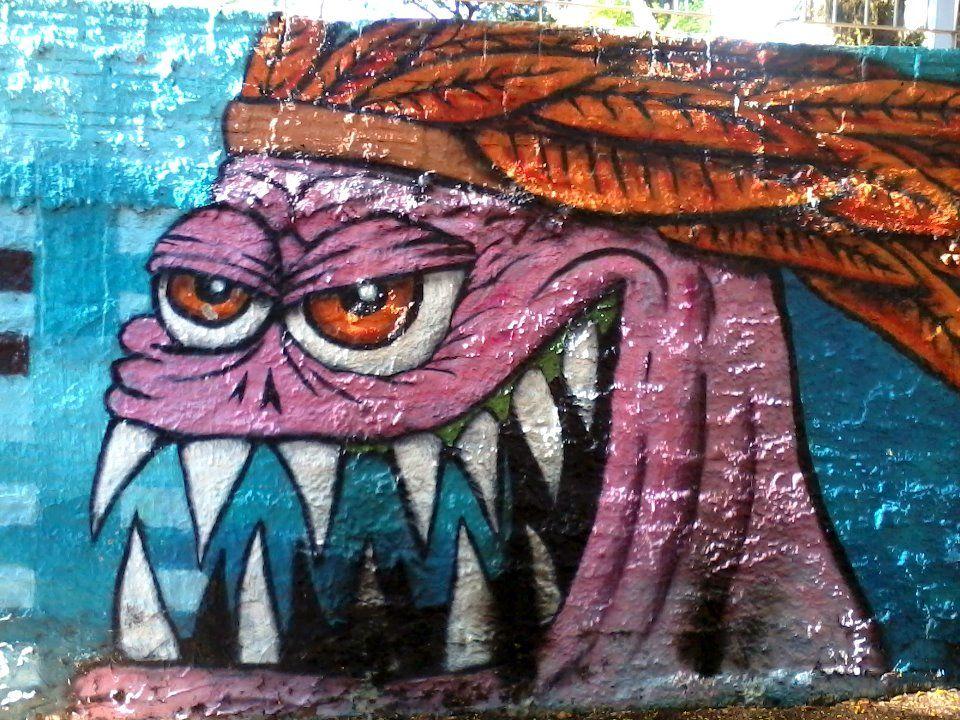 Grafite sim, pichação, não!