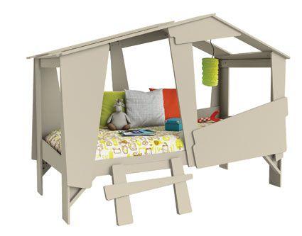 baumhaus bett boo nicht nur f r waldelfen und kletterk nstler wurde dieses etagenbett. Black Bedroom Furniture Sets. Home Design Ideas