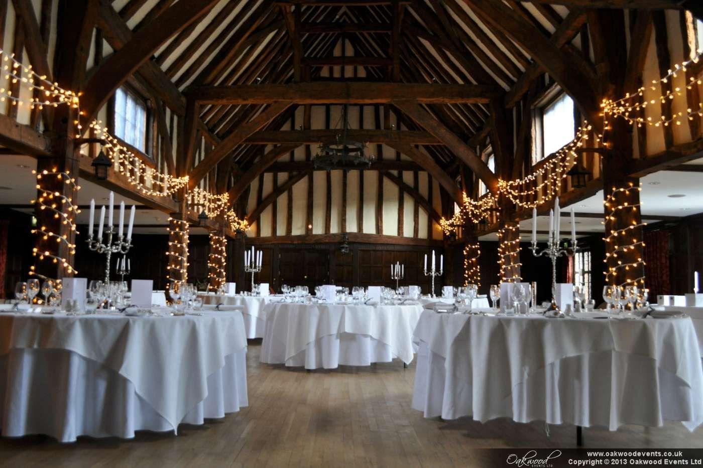 barn wedding lighting. Weddings At Tudor Style Barn   Lighting - Wedding By Oakwood Events