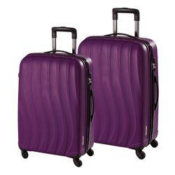 Hardware Ocean Set 2tlg. Trolley M + L, 4 Rollen Plum